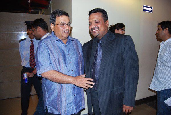 Subhash Ghai, Sanjay Gupta at the premiere of Dus Kahaniyaan