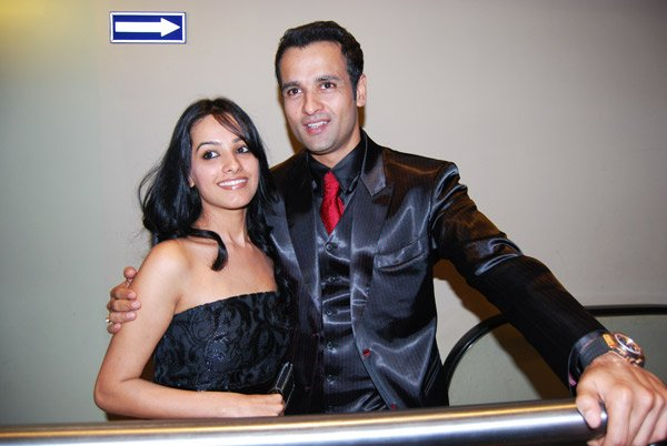 Anita Hasnandani, Rohit Roy at the premiere of Dus Kahaniyaan