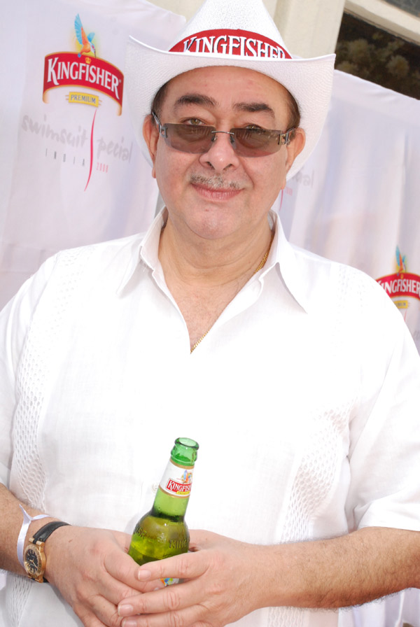 Randhir Kapoor at unveiling of Kingfisher Swimsuit Special 2008