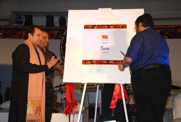 Rahat Fateh Ali Khan at Launch of Rahat Fateh Ali Khan's album Charkha