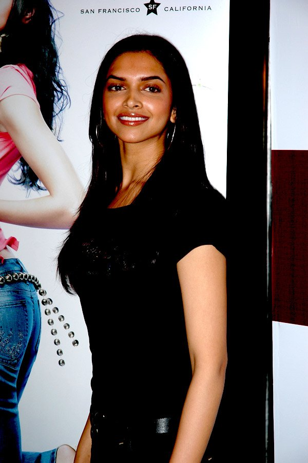 Deepika Padukone at the press meet of Levis Strauss Signature