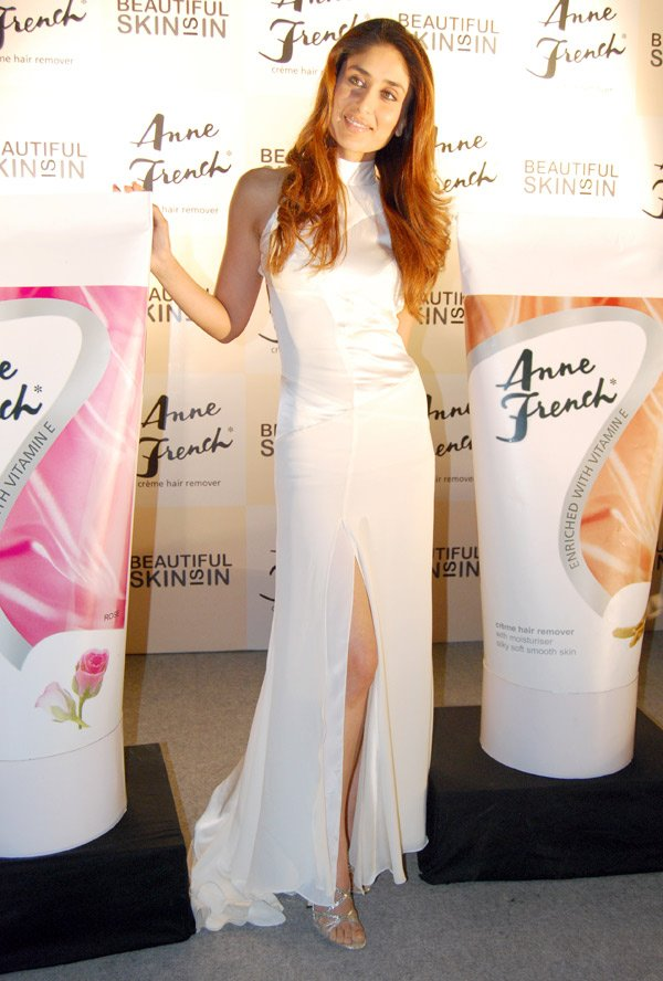 Kareena Kapoor launches Anne French's new products
