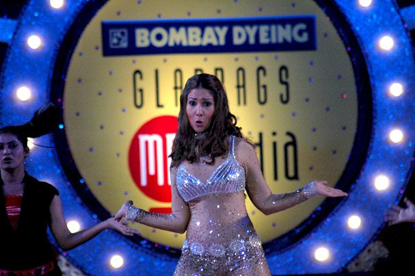Kim Sharma at Gladrags Mrs India Contest 2007