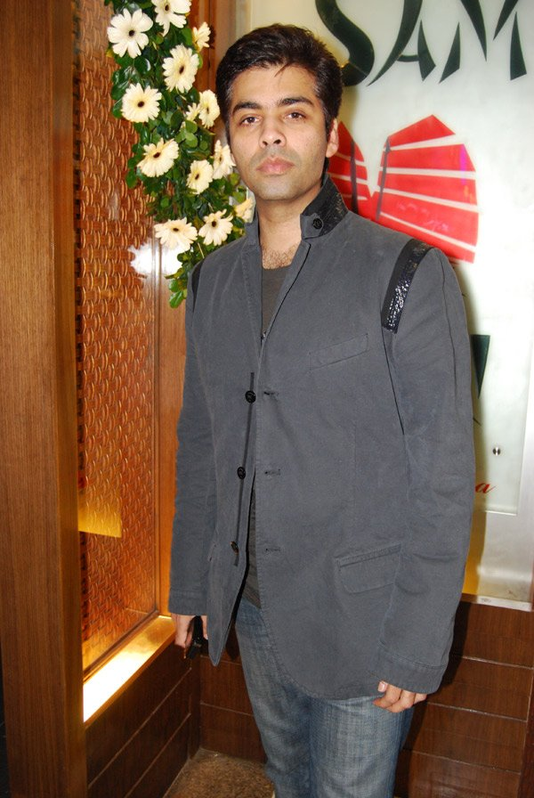 Karan Johar at Pammi Bari's birthday party