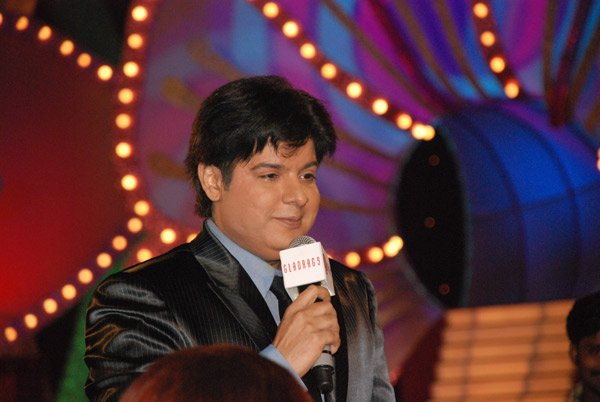Sajid Khan at Gladrags Mrs India Contest 2007