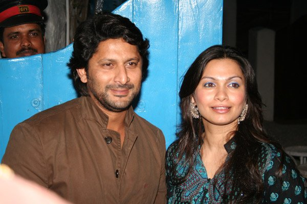 Arshad Warsi, Maria Goretti at the Launch of Dabboo Ratnani's Calender 2008