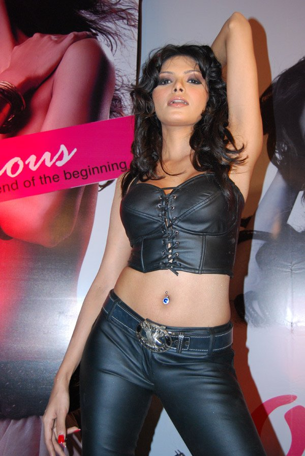 Sherlyn Chopra launches her album Outrageous