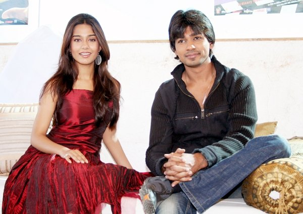 Nikhil Dwivedi and Amrita Rao promote My Name Is Anthony Gonsalves