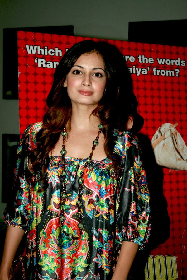 Dia Mirza at the launch of Sahara's Bollywood Ka Boss