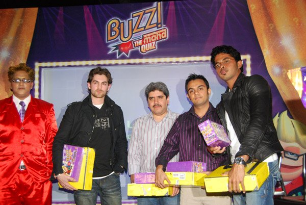 Neil Mukesh at Buzz - The Maha Quiz Contest