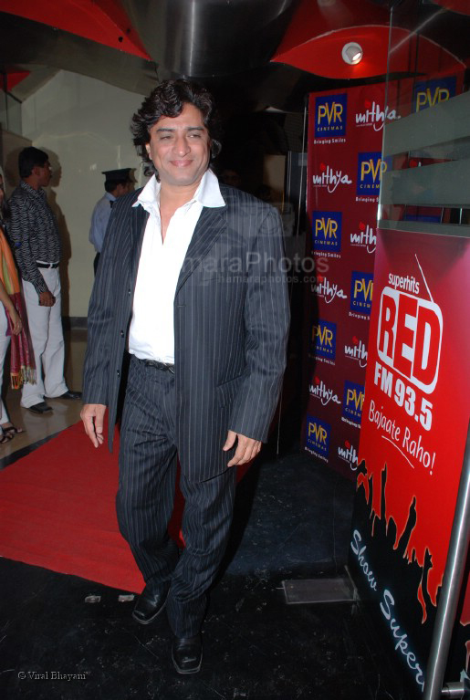 Anand Raj Anand at the premiere of Mithiya at PVT on Feb 7th 2008