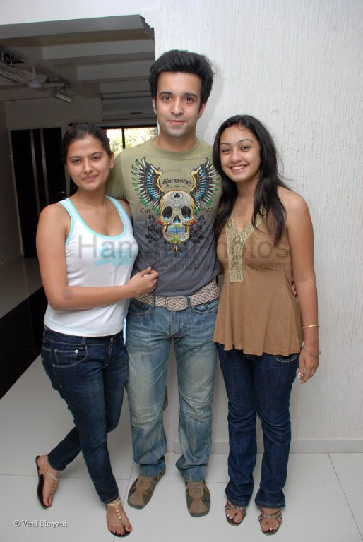 Aamir Ali and Kruttika at Abigail's Surprise B_Day Party on 27 Feb 2008