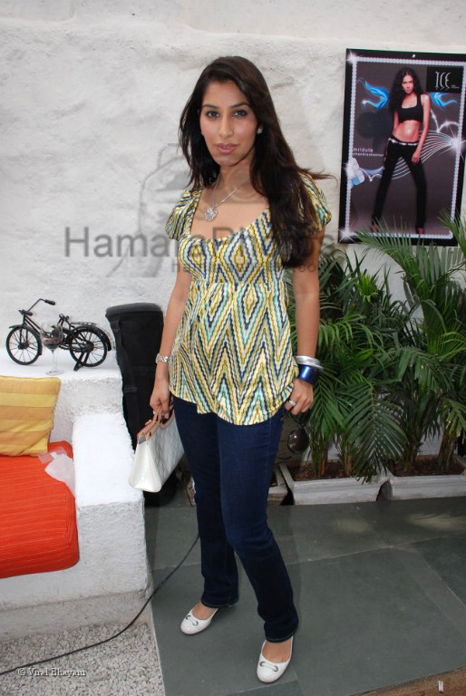 Sophie Chodhary at the launch of Ice model management with a brunch in association with Peroni in Olive on 2nd march 2008