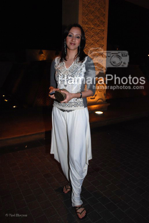 Ishita Arun at MAMI Festival closing night in JW Marriott on March 13th 2008