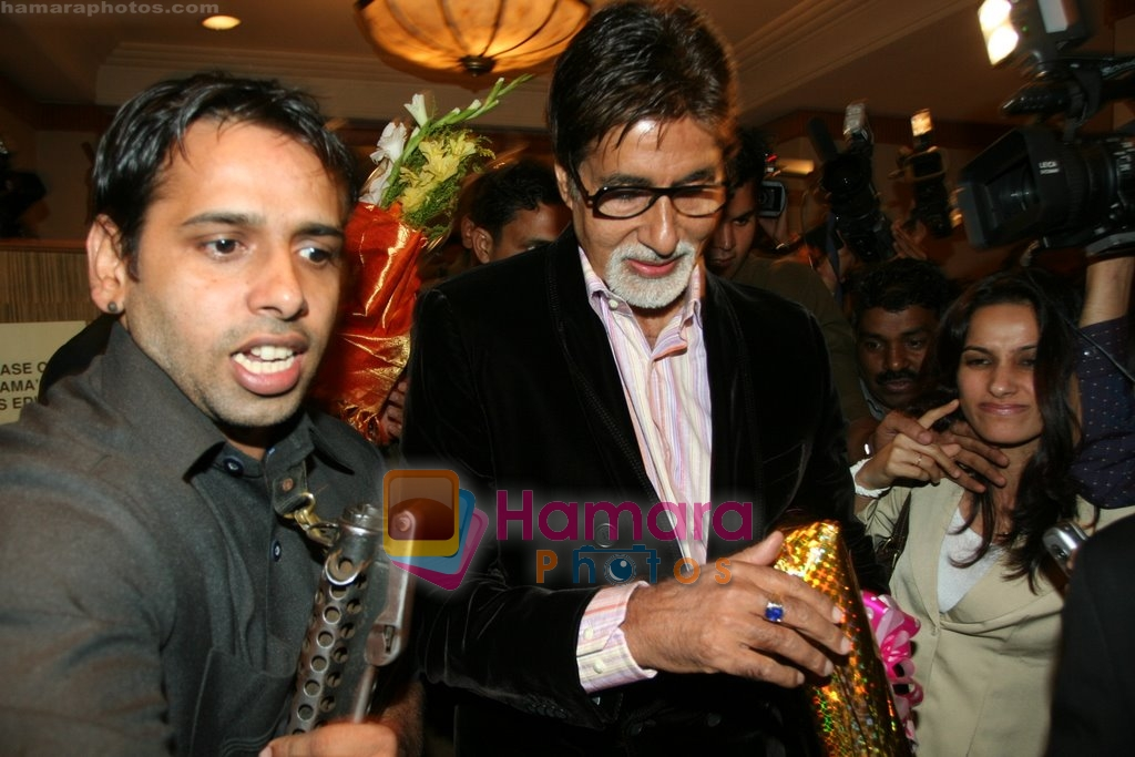 Amitabh Bachchan unveils special edition of Chandamama comic book in  JW Marriott on April 17th 2008