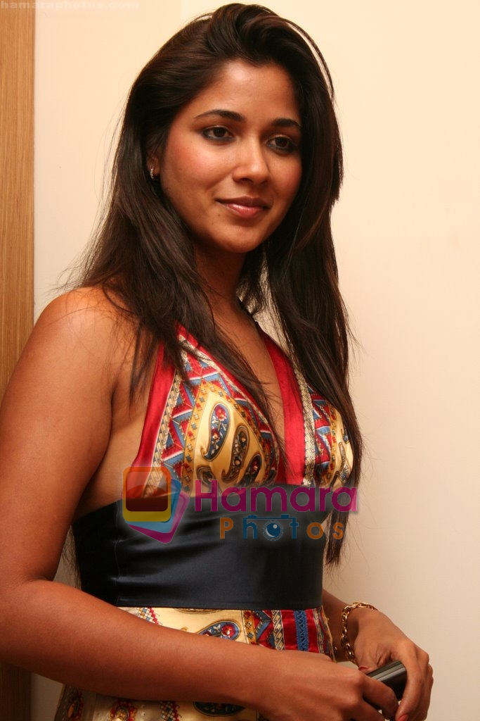 Narayani Shastri at Vandana Sajnani and Rajesh Khattar's wedding reception in BJN Hall on May 5th 2008