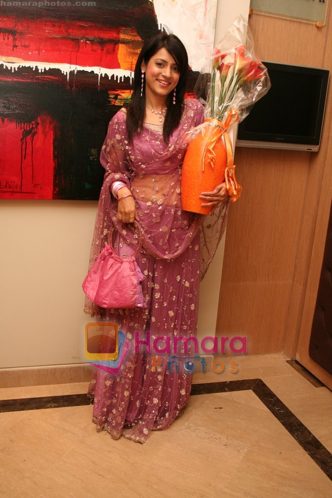 Simple Kaul at Vandana Sajnani and Rajesh Khattar's wedding reception in BJN Hall on May 5th 2008