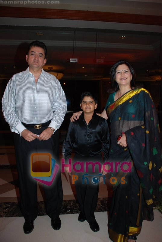 Kunika With Family At The Launch Of Rahul Sharma And
