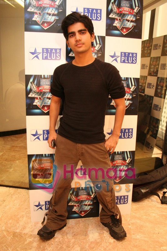 Vineet Singh at Jo Jeeta Woh Superstar photo shoot in Star TV office on May 30th 2008