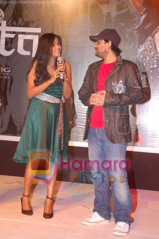 Anita at the Launch of Smita's Pop Albun on 11th June 2008