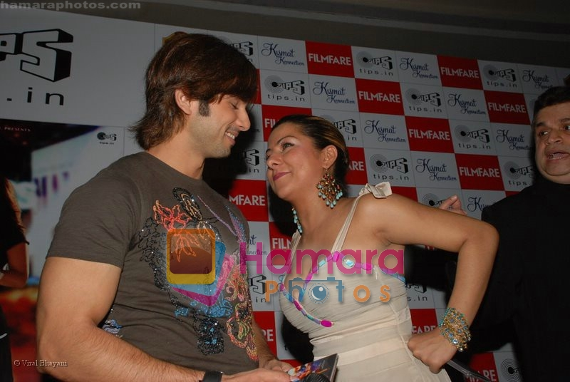 Shahid Kapoor, Hard Kaur at Kismat Konnection music launch in Intercontinnental Sahar on 17th June 2008
