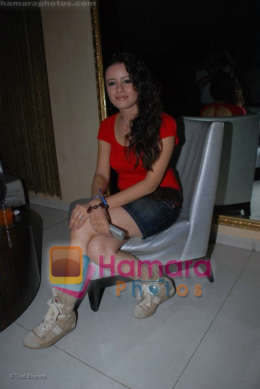 at TV actress Roma Roma Navani birthday bash in D Ultimate Club on 19th June 2008