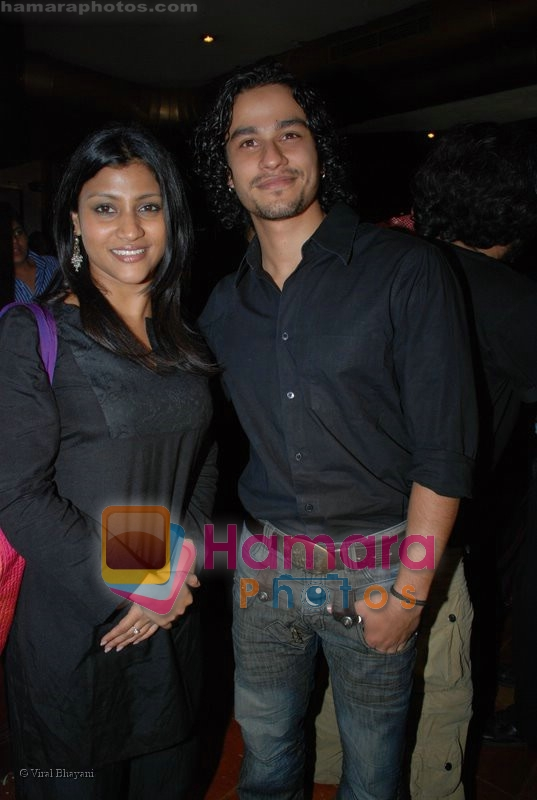 Konkana Sen Sharma, Kunal Khemu at the National Award Winner Madhur Bhandarkar Felicitation Party Hosted By Ashish Shelar at Club 9 on June 21st 2008