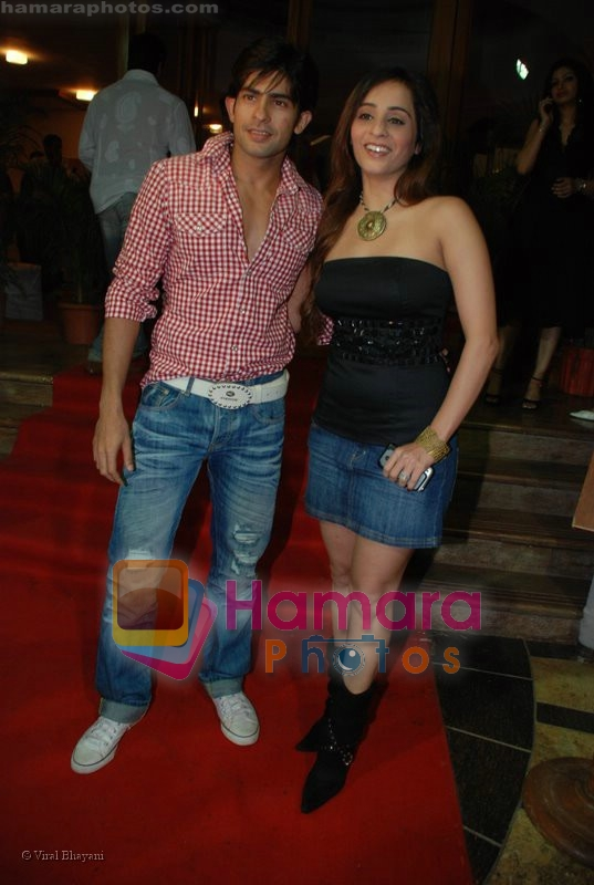 Hussain, Tina at 9X Jalwa Bash at The Club on June 21st 2008