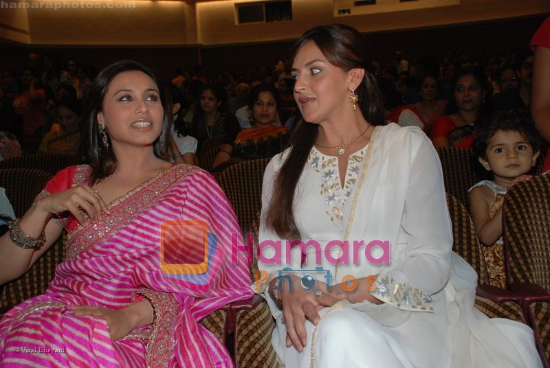 Rani Mukherjee, Esha Deol at Hema Malini's Natyavihar Kalakendra fourth edition of Jaya Smriti in Nehru Centre on June 21st 2008
