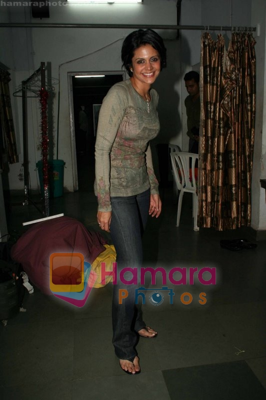 Mandira Bedi at the play Anything But Love in St Andrews on June 22nd 2008