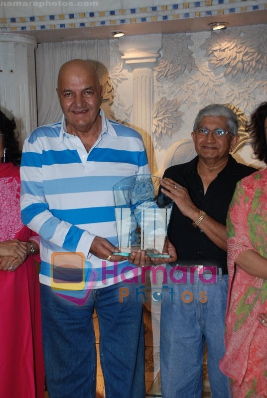 Prem Chopra honoured by Rotary Club of Downtown in  Khar on June 22nd 2008