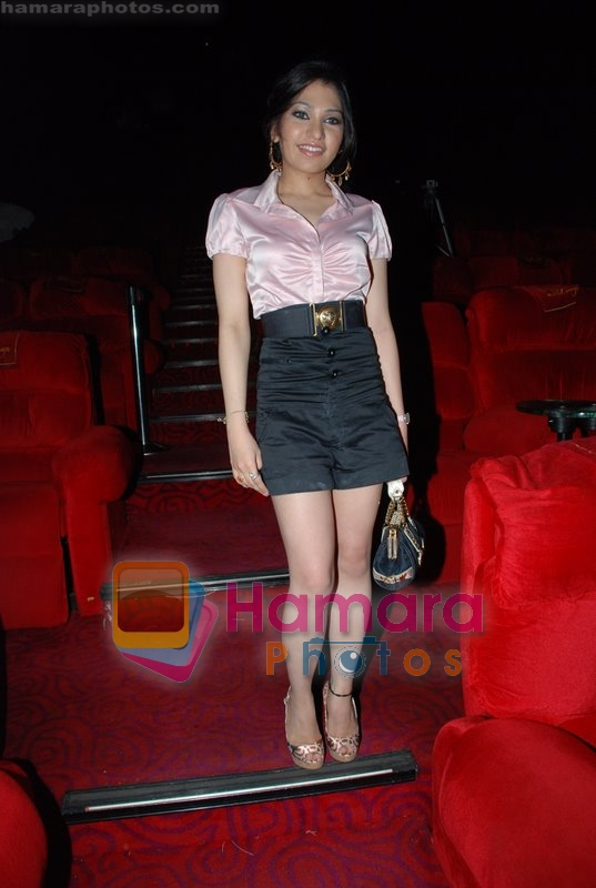 Tulsi Kumar at the launch of Sukhbir's music album Nachna in Cinemax on June 23rd 2008