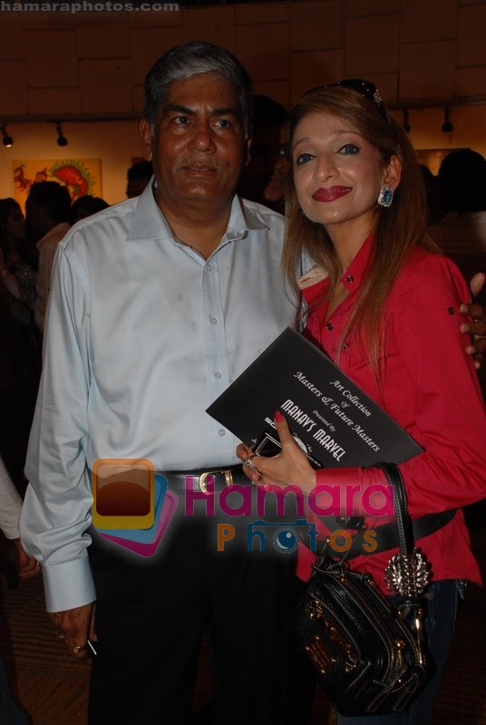 at the Art events by Prakash Bhende, Soketu Parikh and Piu Sarkar at Jehangir Art Gallery in Mumbai on June 23rd 2008