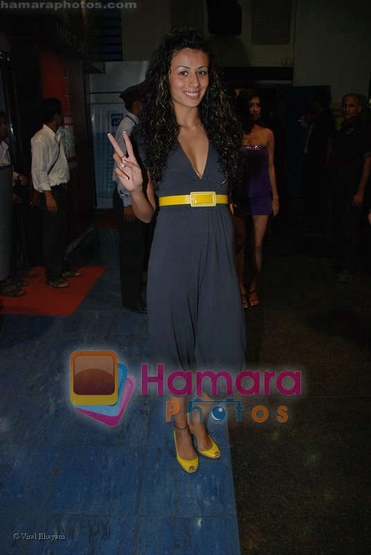 Pia Trivedi at Channel V get Gorgeous press meet in Fame, Andheri on June 24rd 2008