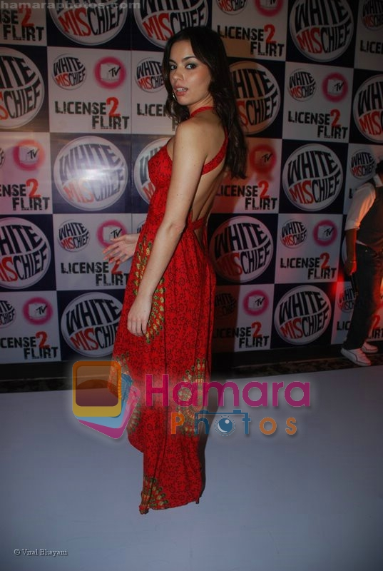 at MTV License to Flirt launch at Taj Hotel on June 25th 2008