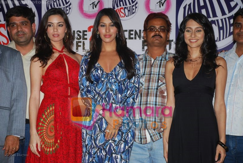 Sophie Chaudhary, Anusha Dandekar at MTV License to Flirt launch at Taj Hotel on June 25th 2008