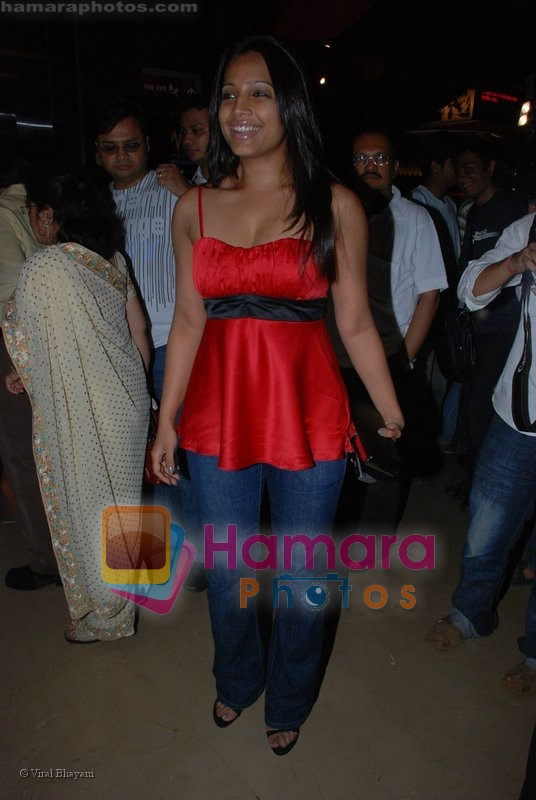 Meghna Naidu at the Premiere of Via Darjeeling in  PVR on June 25th 2008