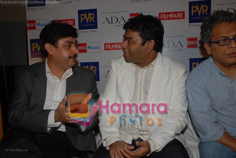 A R Rehman at Ada music launch in PVR on June 25th 2008