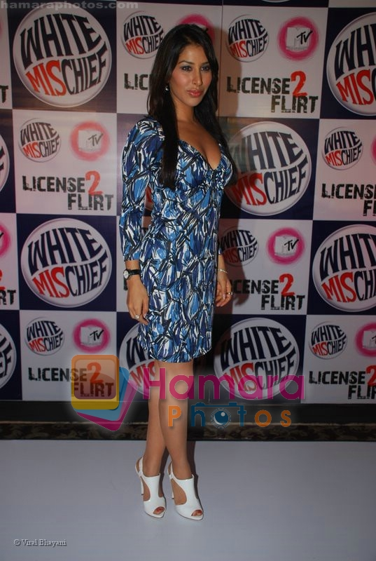 Sophie Chaudhary at MTV License to Flirt launch at Taj Hotel on June 25th 2008