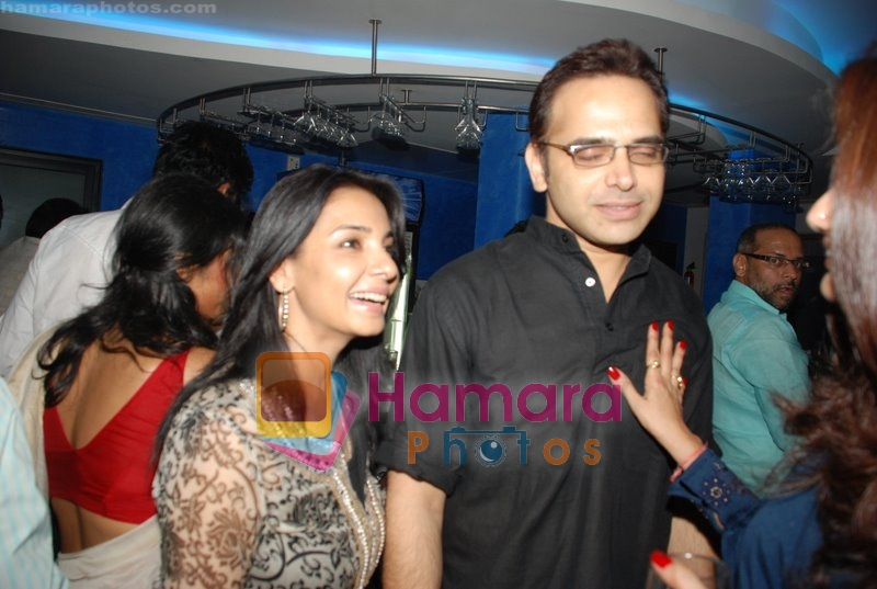 Harsh Chayya with wife at Nagesh Bhosle's wedding anniversary in Country Club on June 25th 2008