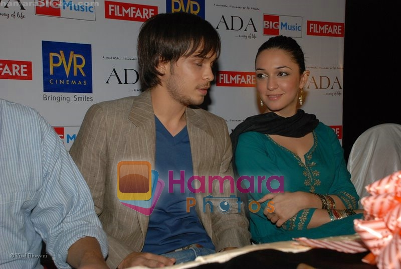 Ayaan Ahmad, Nauheed Cyrusi at Ada music launch in PVR on June 25th 2008