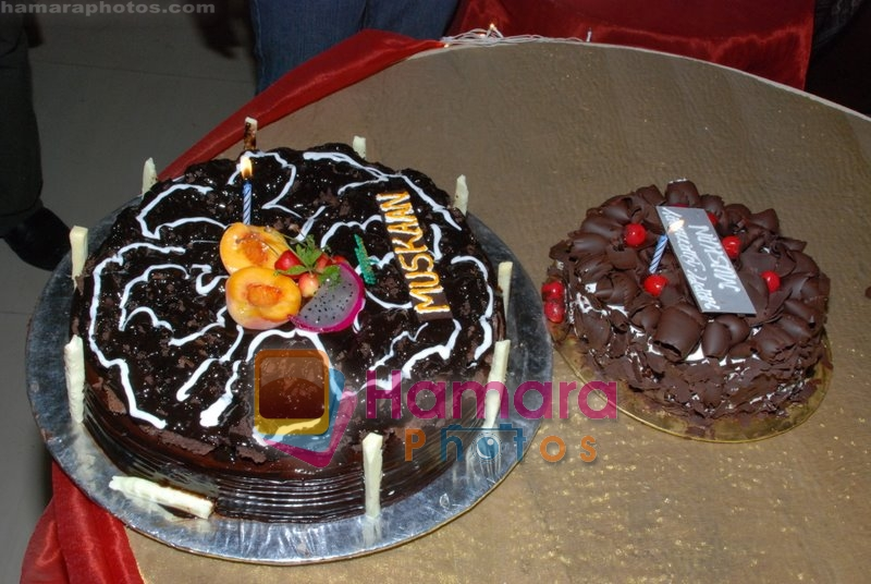 at the completion party of 100 episodes of Dahej and Muskan's birthday bash in Filmalaya on June 26th 2008
