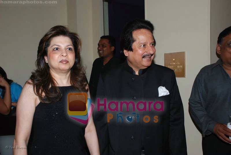 Pankaj Udhas at the music launch of Singh is King in Enigma on June 26th 2008