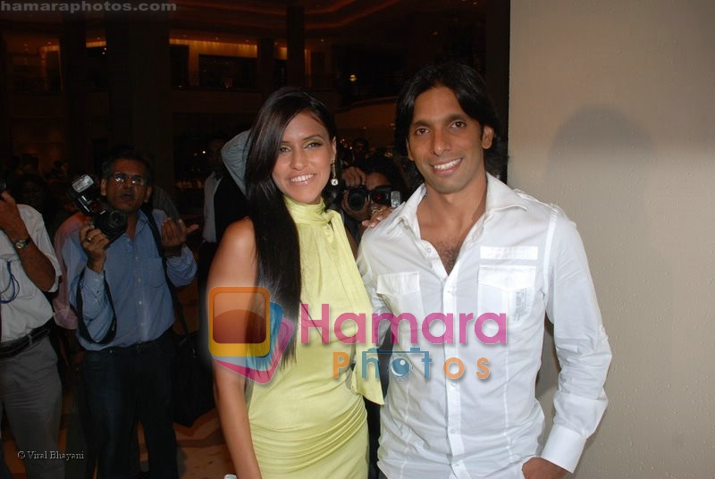 Neha Dhupia at the music launch of Singh is King in Enigma on June 26th 2008