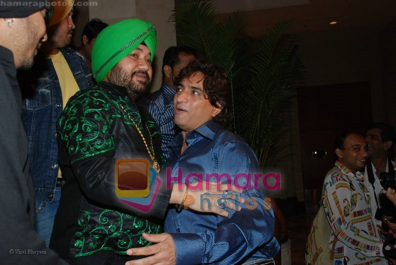 Daler Mehndi at the music launch of Singh is King in Enigma on June 26th 2008