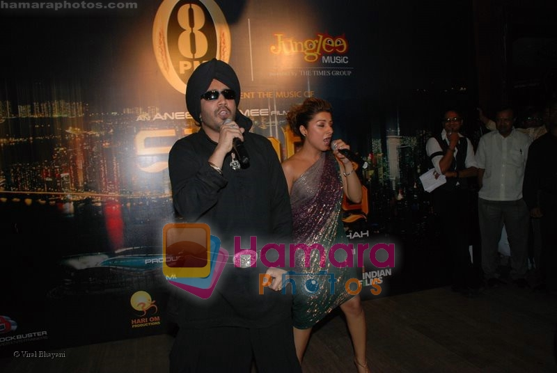 Mika Singh, Hard Kaur at the music launch of Singh is King in Enigma on June 26th 2008