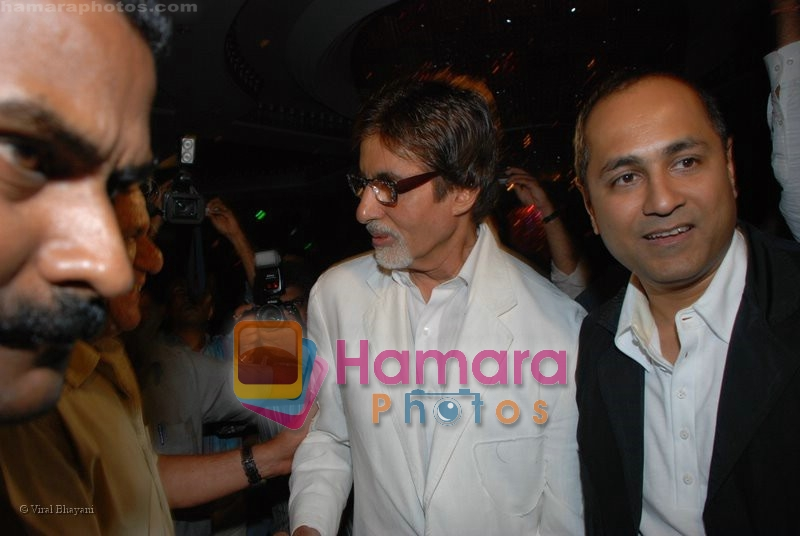 Amitabh Bachchan at the music launch of Singh is King in Enigma on June 26th 2008