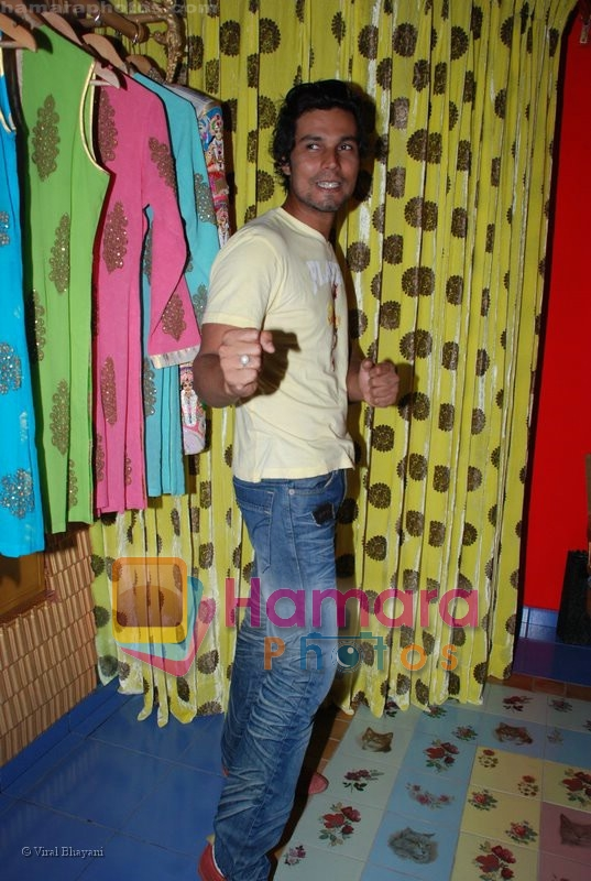 Randeep Hooda at the launch of D7 store in Mumbai on June 26th 2008