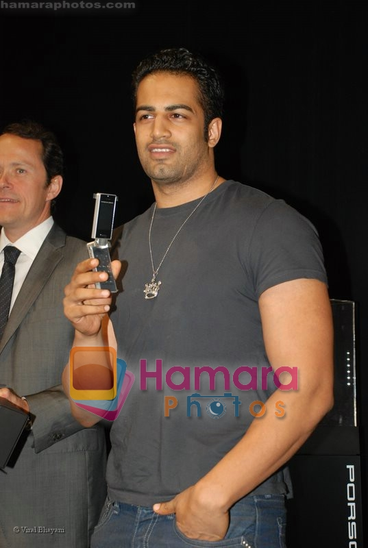 Upen Patel at the launch of Porsche first mobile phone in Kemps Corner on June 27th 2008
