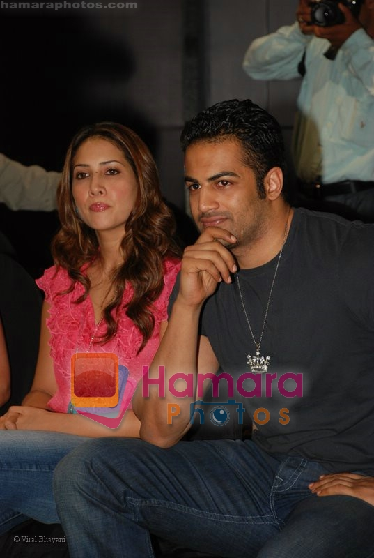 Kim Sharma, Upen Patel at the launch of Porsche first mobile phone in Kemps Corner on June 27th 2008